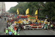 The People's Climate March Start